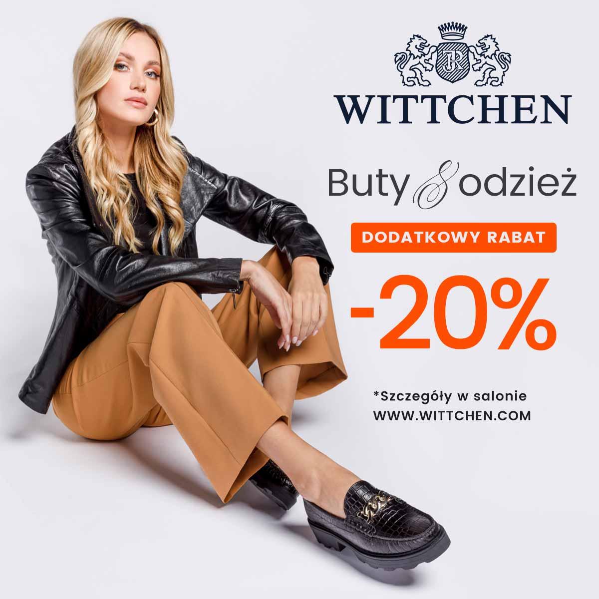 Buty & Odzież dodatkowy rabat 20%