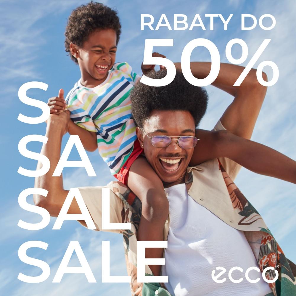 Obuwie z rabatem do -50% tylko w ECCO!