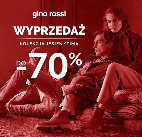 WYPRZEDAŻ DO -70% W SALONIE GINO ROSSI!