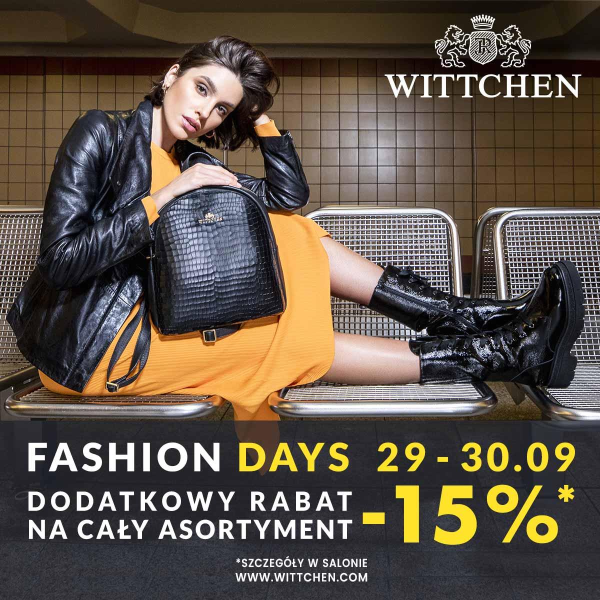 FASHION DAYS w WITTCHEN