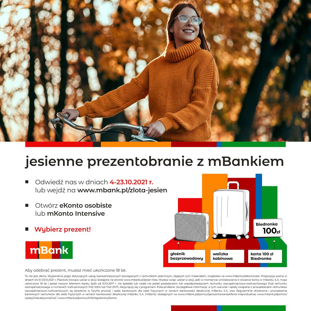 Jesienne prezentobranie z mBankiem
