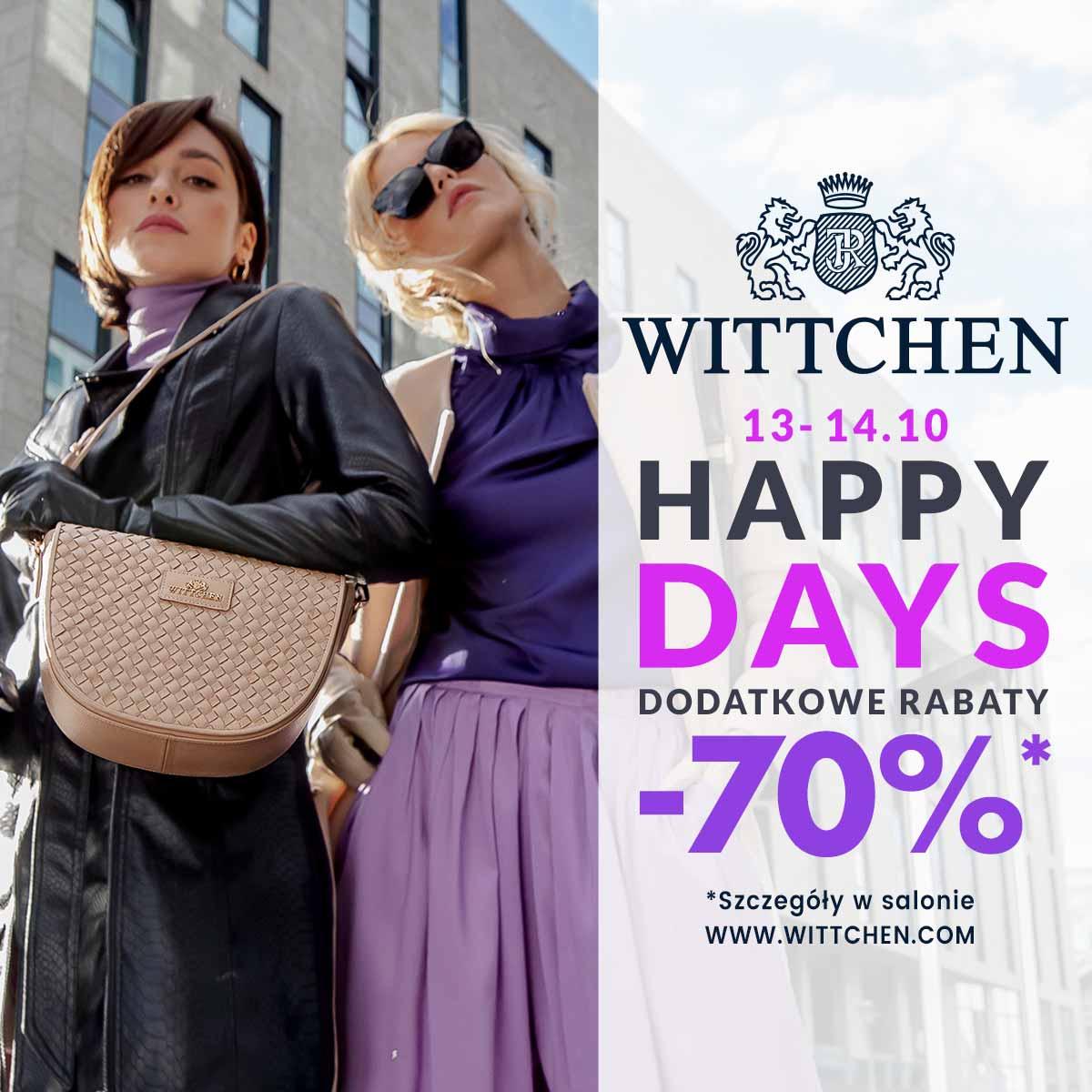 HAPPY DAYS w WITTCHEN!