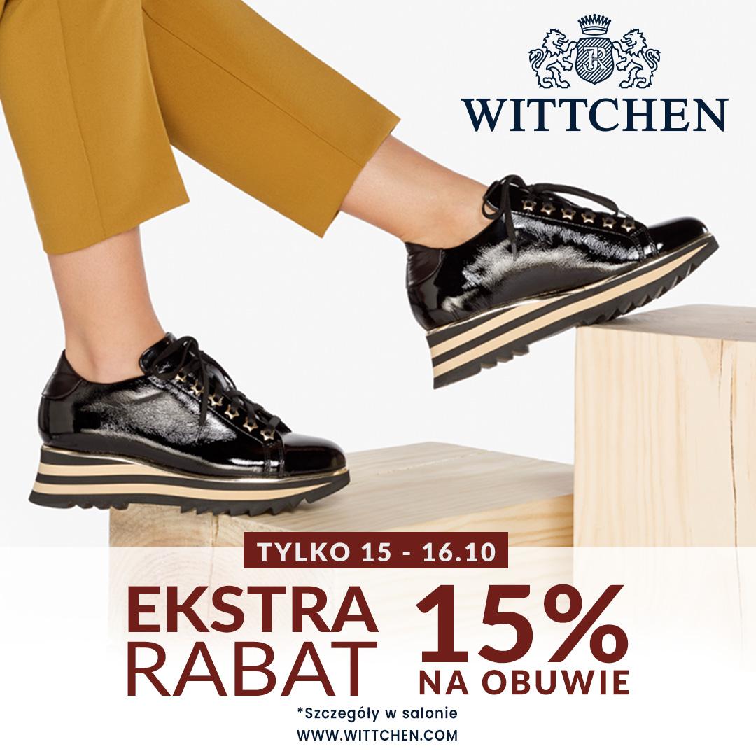 Dodatkowe rabaty na buty w WITTCHEN